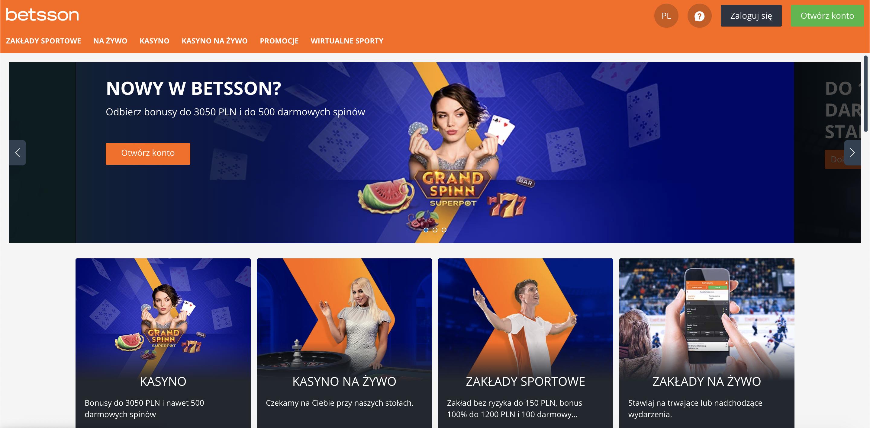 Kasyno Betsson Recenzja 2021 - Zaloguj się do świata rozrywki! Oferta powitalna czeka w Betsson!