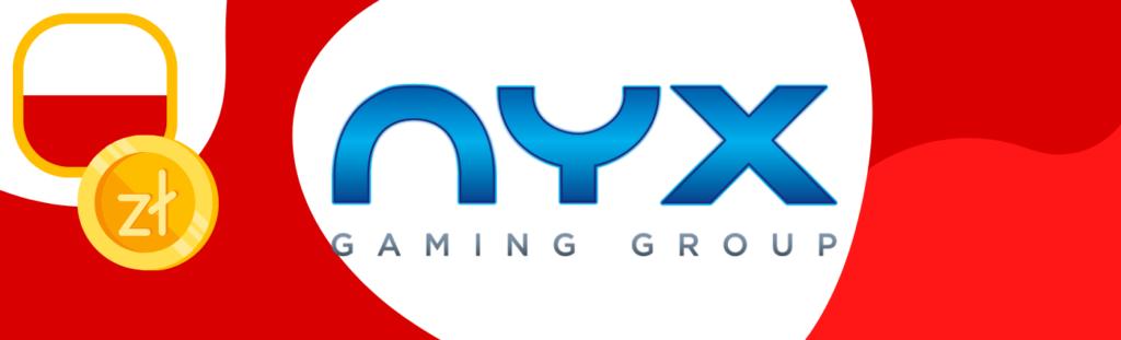 Nyx Gaming Group to firma, produkująca gry i automaty, której siedziba znajduje się w Las Vegas!
