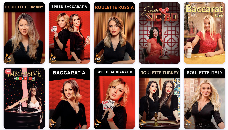 Zobacz, co czeka na Ciebie w kasynie na żywo, na stronie znajdziesz między innymi gry karciane i ruletkę.