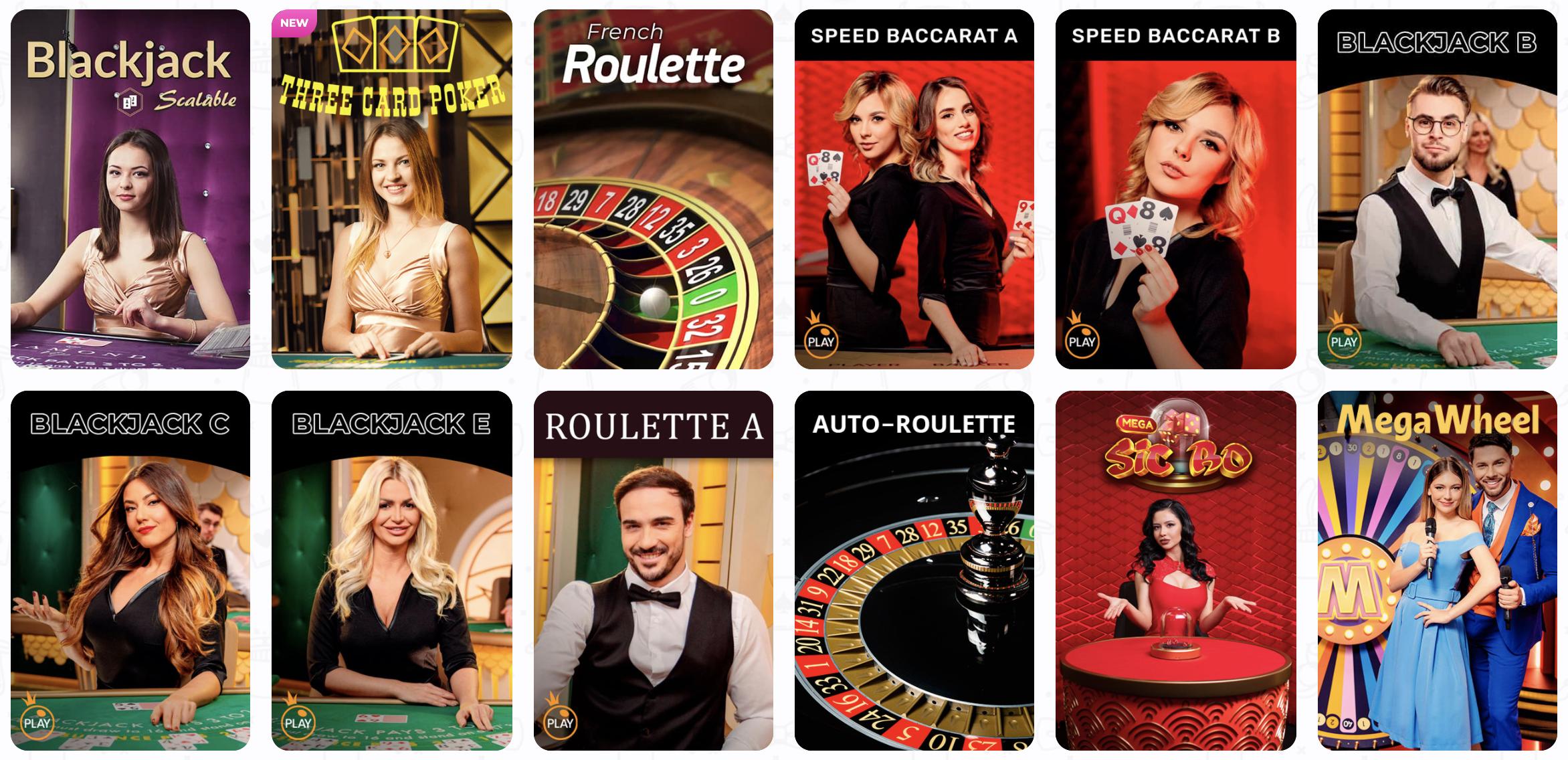 Zobacz ofertę kasyna na żywo, znajdziesz w nim np. ruletkę, pokera i inne gry karciane.
