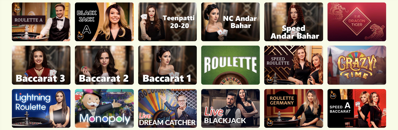 Sprawdź kasyno na żywo YoYo Casino - w ofercie są popularne gry karciane, ruletka i wiele innych.