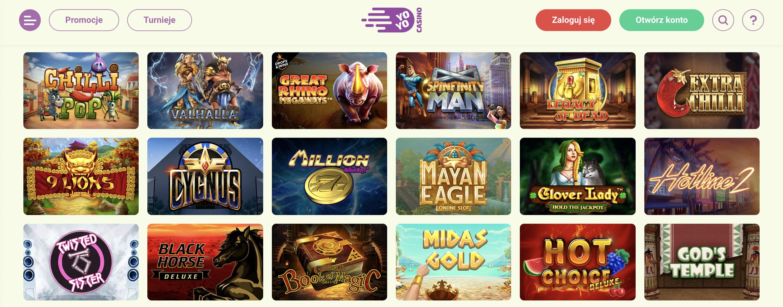 Nasza recenzja gier w YoYo Casino? Ogromny wybór gier, kod promocyjny i darmowe spiny na sloty w YoYo Casino!